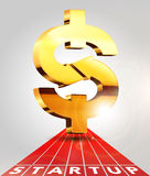Dollar sing 3 Royalty Free Stock Photos