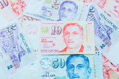 Dollar Singapore currency Stock Images
