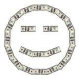 Dollar Smiley Happy Stock Photos