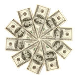 Dollar Snowflake Stock Images