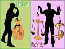 Dollar, Stärke und Geschäft Lizenzfreie Stockfotos