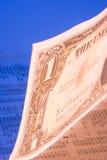 Dollar stocks Royalty Free Stock Photos