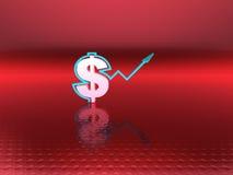 Dollar success Stock Image