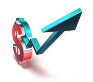 Dollar success Stock Photography