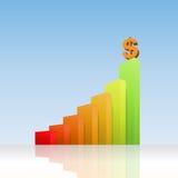 Dollar Success Graphic Stock Photo