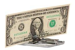 The dollar swindle Royalty Free Stock Photo