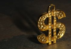 Dollar Symbol Royalty Free Stock Photos