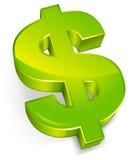 Dollar symbol Royalty Free Stock Photos
