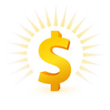 Dollar symbol Royalty Free Stock Photography