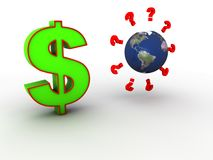 Dollar symbol Stock Photo