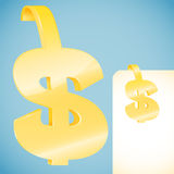 Dollar symbol Stock Photography