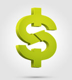 Dollar symbol. Currency and financial concept Royalty Free Stock Photos