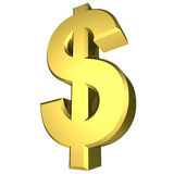 Dollar symbol Royalty Free Stock Image