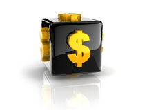Dollar symbol Royalty Free Stock Images