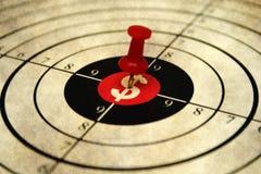 Dollar target Royalty Free Stock Image