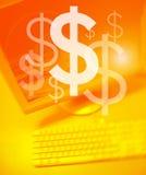 Dollar-Team-Arbeiten Lizenzfreies Stockfoto