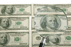 dollar tema Royaltyfria Bilder