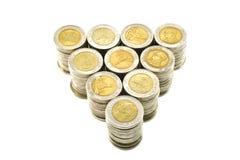 Dollar Thailand royaltyfri fotografi