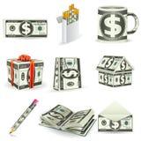 Dollar Things Royalty Free Stock Photo
