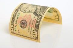 dollar tio Royaltyfri Foto