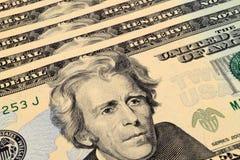 dollar tjugo Arkivfoto