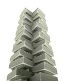 Dollar Tower Royalty Free Stock Image