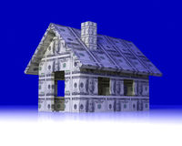 Dollar Toy House Royalty Free Stock Photography