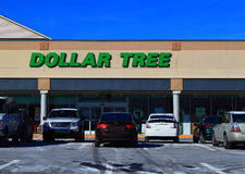 Dollar Tree Discount Store Royalty Free Stock Photos