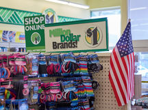 Dollar Tree shop online signage. Royalty Free Stock Images