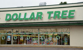 Dollar Tree store royalty free stock photography