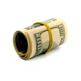 Dollar tube Royalty Free Stock Images