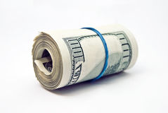 Dollar tube Royalty Free Stock Photo