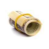 Dollar tube Royalty Free Stock Photos