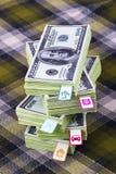 Dollar und Planungskosten Lizenzfreie Stockfotografie