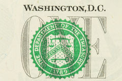 Dollar US Image libre de droits
