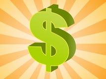Dollar US illustration libre de droits