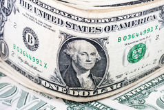 Dollar, The US currency, background. Stock Photography