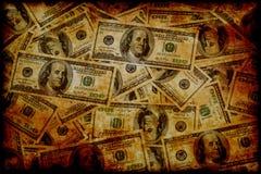Dollar US de cru Image libre de droits