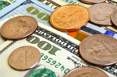 Dollar USA begrepp Royaltyfri Fotografi