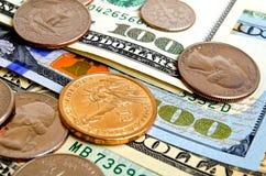 Dollar USA begrepp Arkivbild