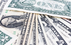 Dollar USA-valutan, bakgrund Royaltyfri Bild