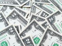 Dollar USD banknotes Stock Photos