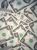 Dollar USD banknotes Royalty Free Stock Photography