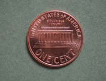 Dollar (USD) coin, currency of United States (USA) Stock Photos