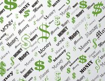 Dollar wallpaper Stock Photos