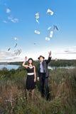 Dollar well spent Stock Photos