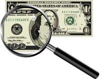 Dollar-Wert lizenzfreie abbildung