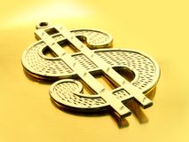 Dollar-Zeichen Stockfotografie
