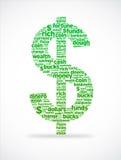 Dollar-Zeichen Lizenzfreies Stockfoto