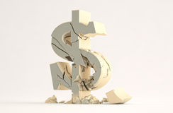 Dollar-Zeichen lizenzfreie abbildung